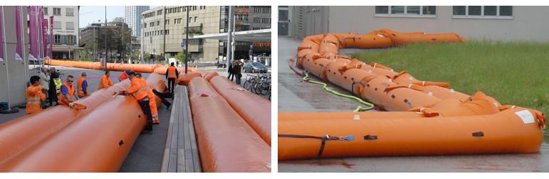 Inflatable Flood Barriers Flood & Coast 2017