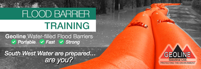 flood barrier training